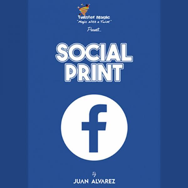 SOCIAL PRINT by Juan Alvarez and Twister Magic (Le...