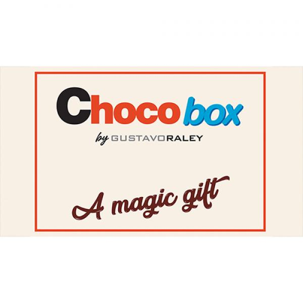 CHOCO BOX (Gimmicks and Online Instructions) by Gu...