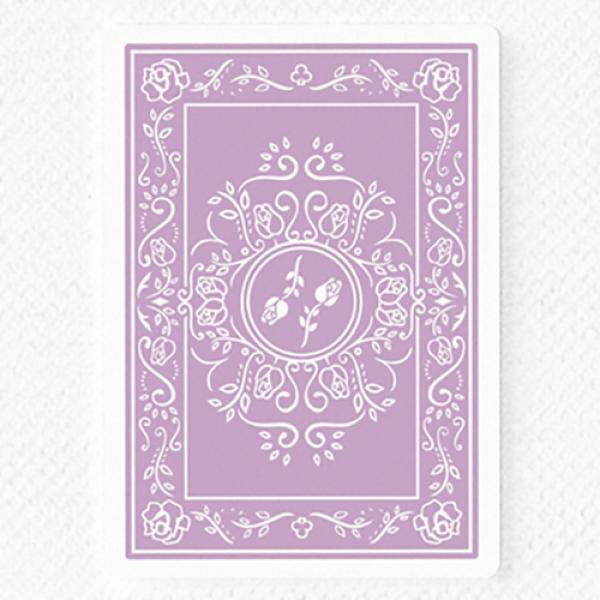Black Roses Lavender (Marked) Edition Playing Card...