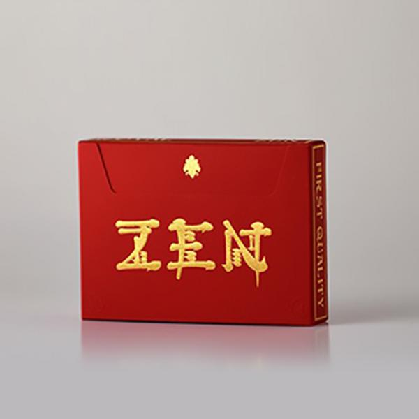 Royal Zen (RED/GOLD) Playing Cards by Expert Playi...