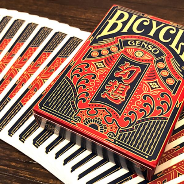 Bicycle Genso Blue Playing Cards by Card Experimen...