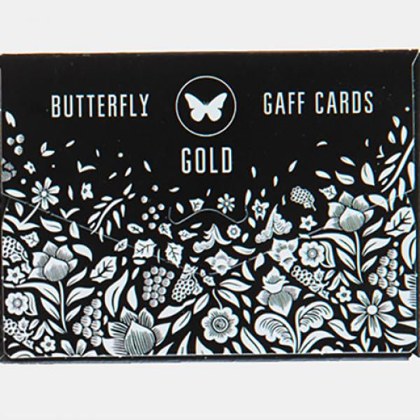 Gaff pack for Butterfly Playing Cards Marked (Blac...