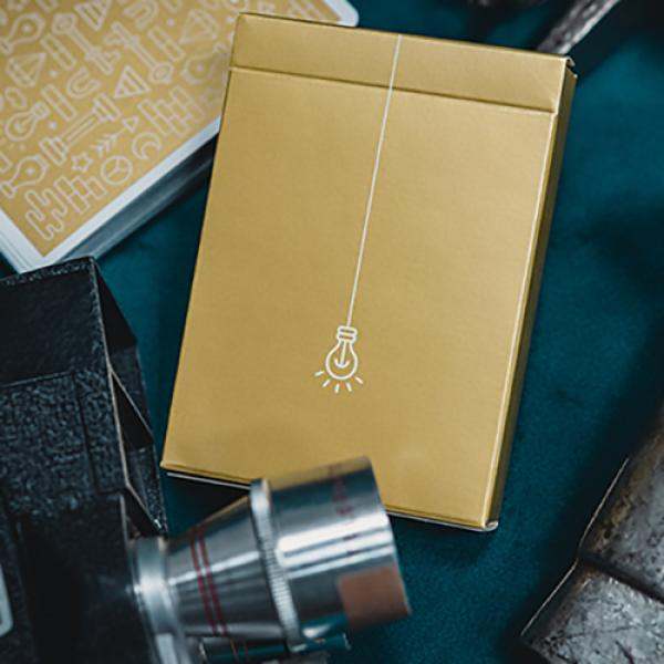 Gold ICON Playing Cards by Riffle Shuffle