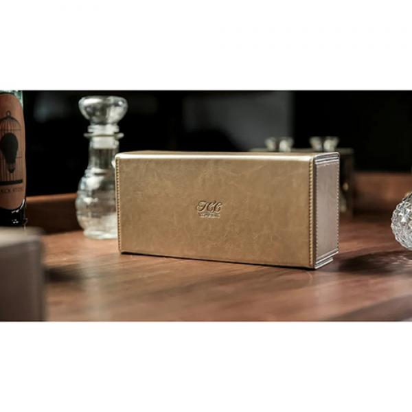 Playing Card Collection GOLD 12 Deck Box by TCC