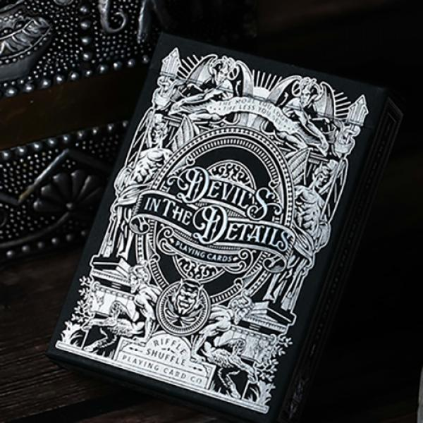 Devil's in the Details Sinful Silver Playing Cards...