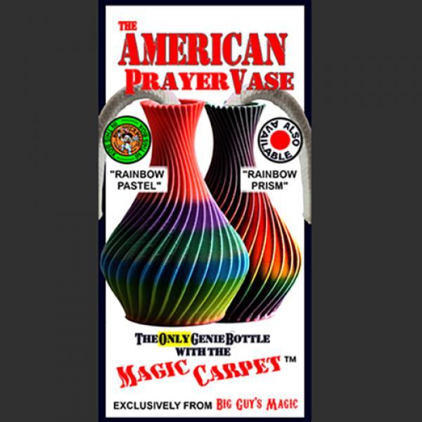 The American Prayer Vase Genie Bottle RAINBOW PAST...