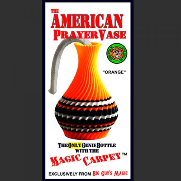 The American Prayer Vase Genie Bottle ORANGE by Bi...