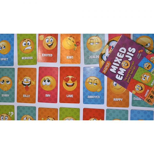 Hoyle Mixed Emojis Playing Cards by US Playing Car...