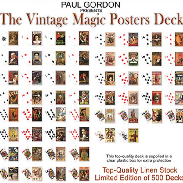 Vintage Magic Posters Deck from Paul Gordon