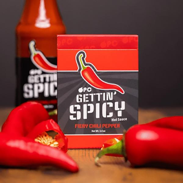Gettin' Spicy - Chili Pepper Playing Cards by OPC