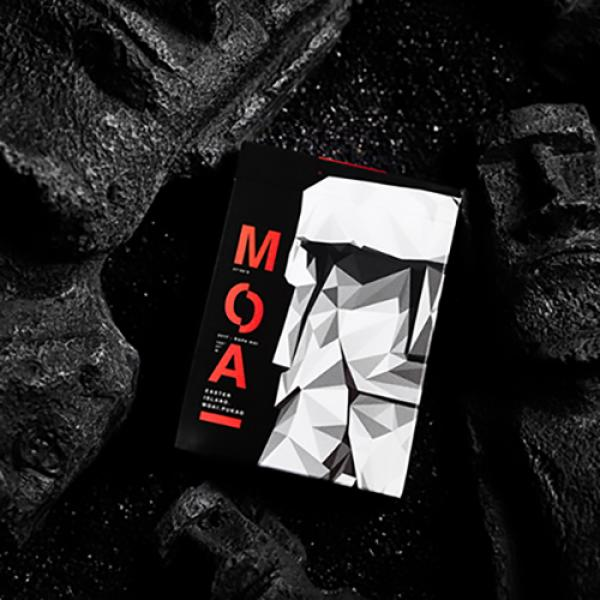 Moai Red Edition Playing Cards by Bocopo