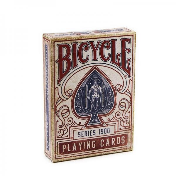 Bicycle - 1900 Playing Cards - Red
