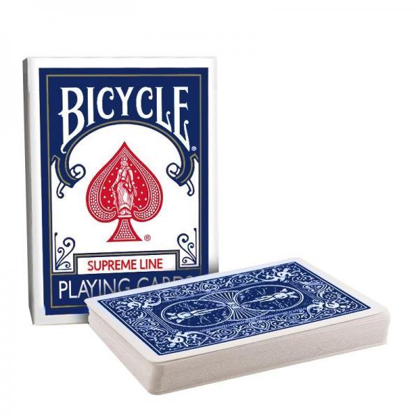 Bicycle - Supreme Line - Short Deck - Blue back