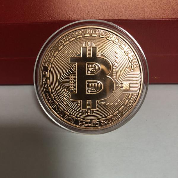 Bitcoin Commemorative Coin Copper