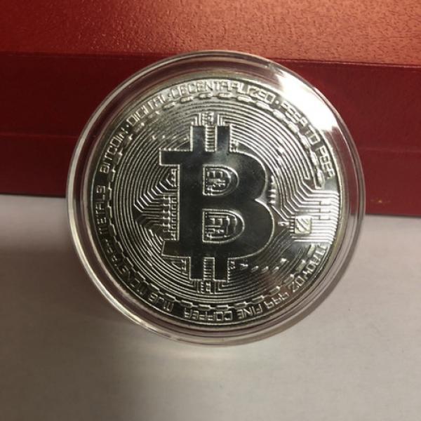 Bitcoin Commemorative Coin Silver