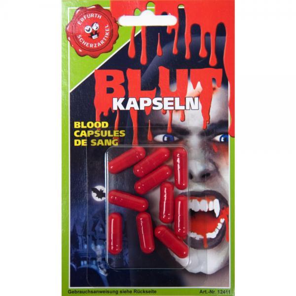 10 blood capsules
