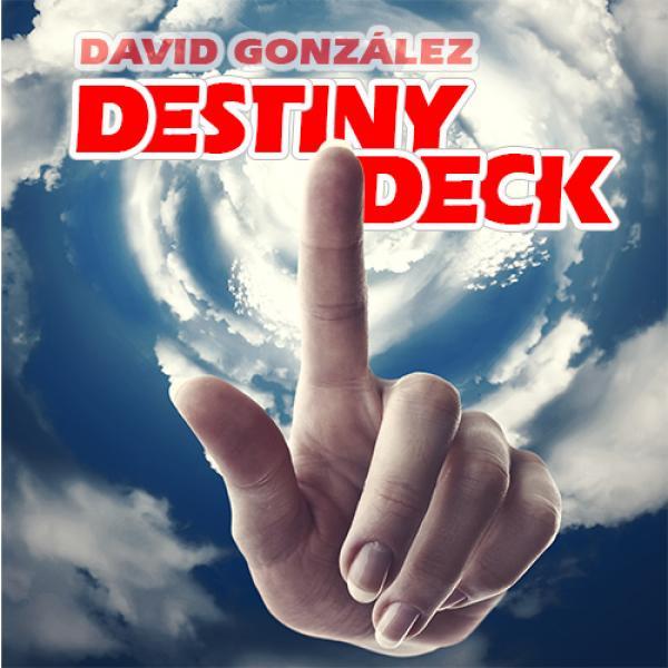 Destiny Deck (Blue) by David Gonzalez & Card S...