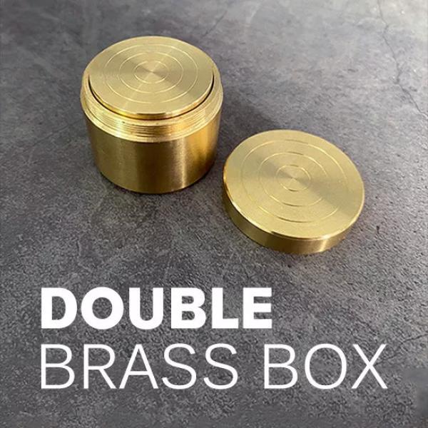 Double Brass Box