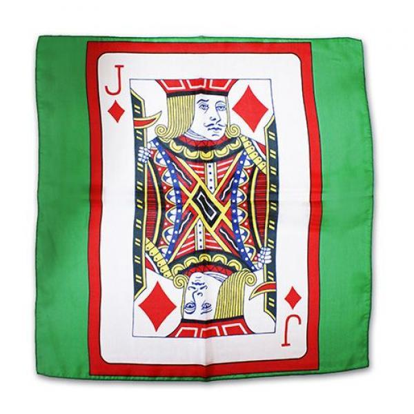 Sitta Card Silk - Green - 45 cm (18 ) - Jack of Di...