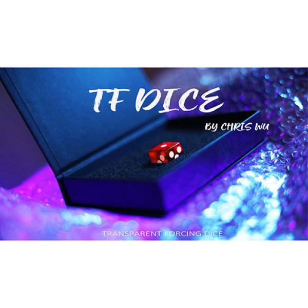 TF DICE (Transparent Forcing Dice) RED by Chris Wu