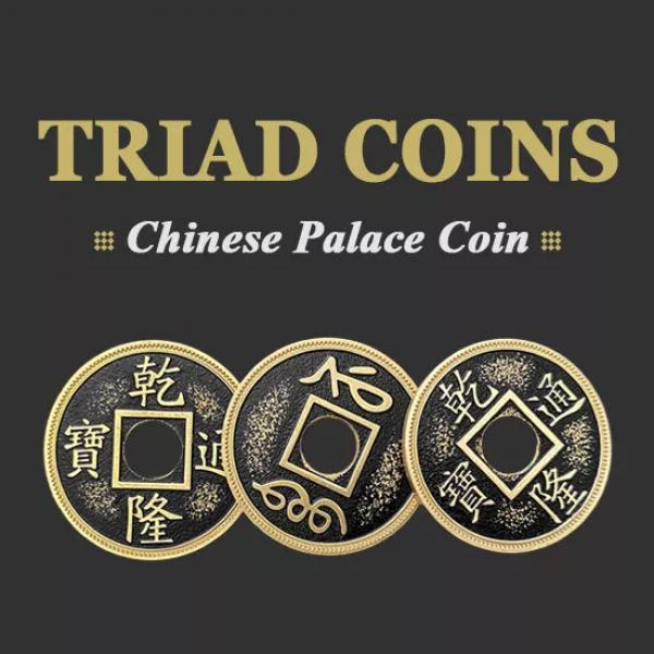 Triad Coins (Chinese Palace Coin) - Morgan Size