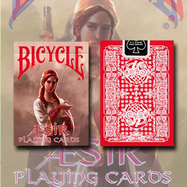 Bicycle AEsir Viking Gods Deck (Red) by US Playing...