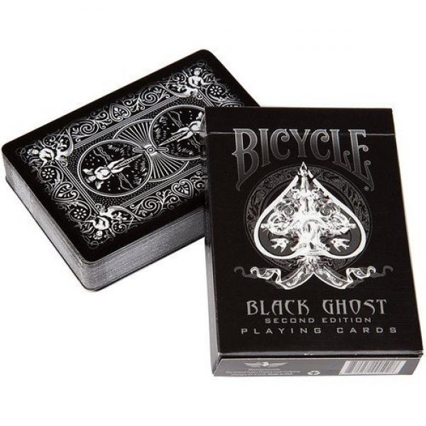 Bicycle Black Ghost 2nd edition by Ellusionist