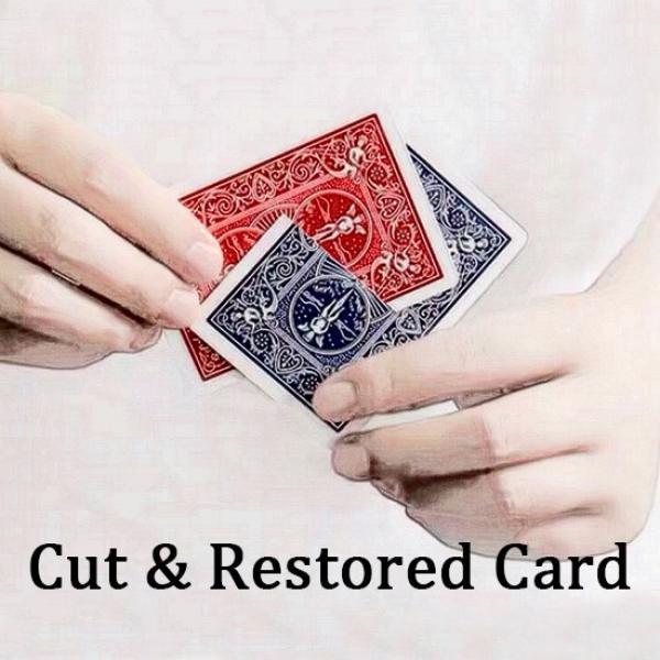 Cut & Restored Card (Version B)