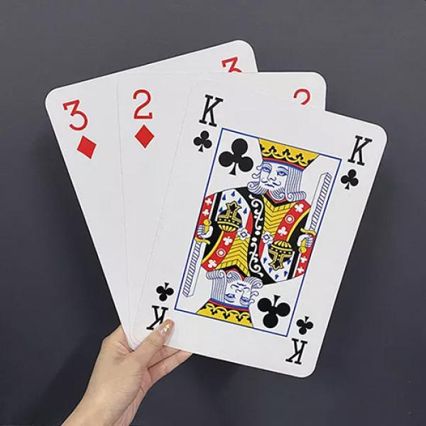 Jumbo Three Card Monte (28cm x 20cm)