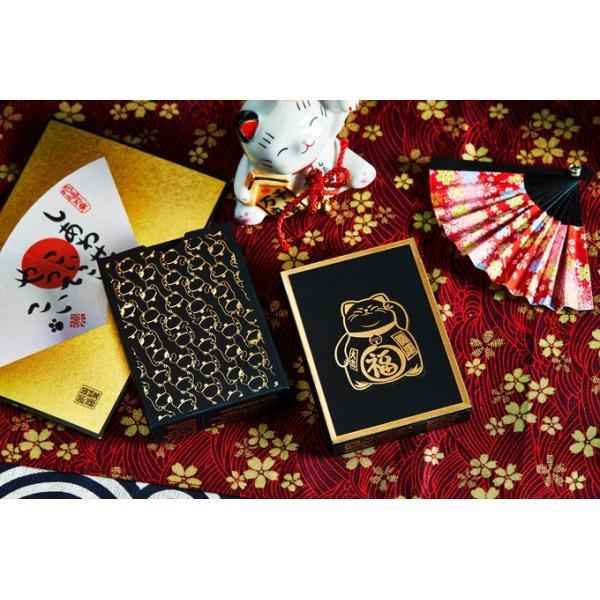 Bicycle - Maneki Neko Playing Cards - Gilded Limit...