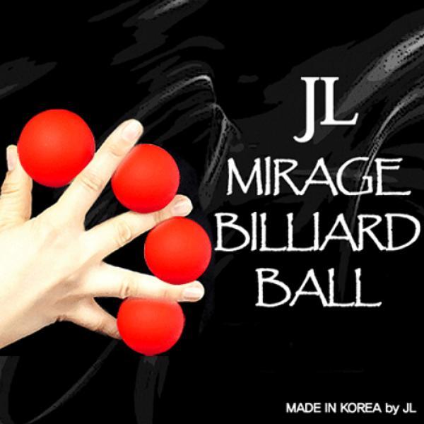 Mirage Billiard Balls (5 cm) by JL (RED, 3 Balls a...
