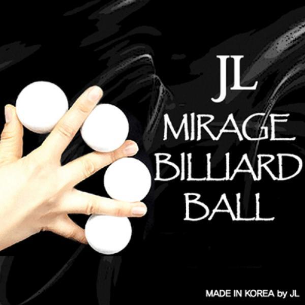 Two Inch Mirage Billiard Balls by JL (WHITE, 3 Bal...