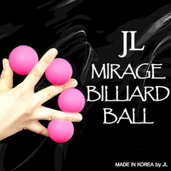 Mirage Billiard Balls by JL (PINK, 3 Balls and She...