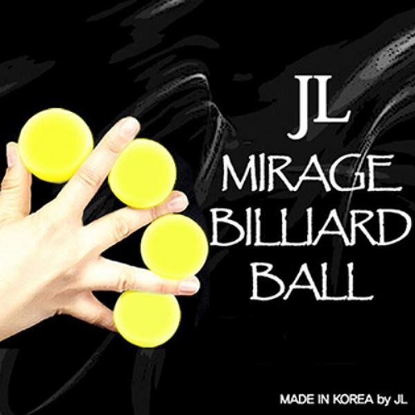 Mirage Billiard Balls by JL (Yellow, 3 Balls and S...