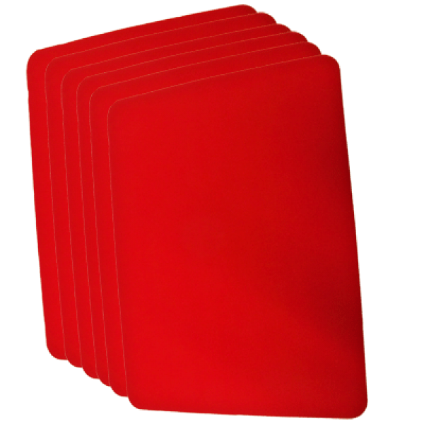 Small Close Up Pad Red (20cm x 25cm) by Goshman