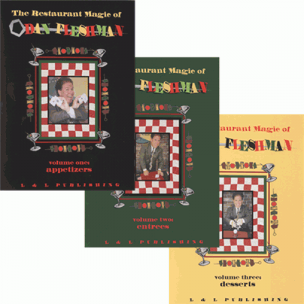 Restaurant Magic Set (Vol 1 thru 3) by Dan Fleshma...
