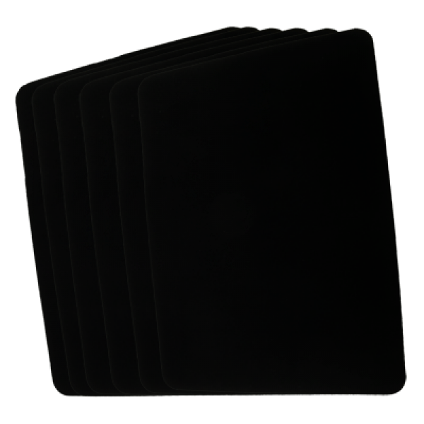 Small Close Up Pad (Black 20 cm x 30 cm) by Goshma...