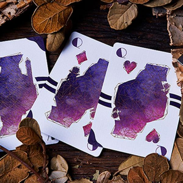 Lost Deer Black Edition Playing Cards by BOCOPO